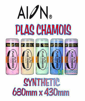 AION PLAS SYNTHETIC CAR WASHING CHAMOIS 680x430 CLEANING LEATHER CLOTH SHAMMY