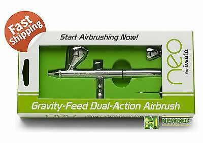 NEO FOR IWATA CN 0 35MM DUAL ACTION GRAVITY FEED AIRBRUSH