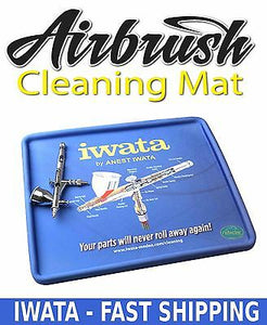 AIRBRUSH CLEANING MAT ANEST IWATA SPRAY TOOL GUN POT NEEDLE NOZZLE REPAIR TATTOO