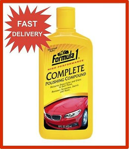 FORMULA 1 COMPLETE COMPOUND RESTORE CAR CLEAN AUTO DETAIL SHINE POLISH DIY