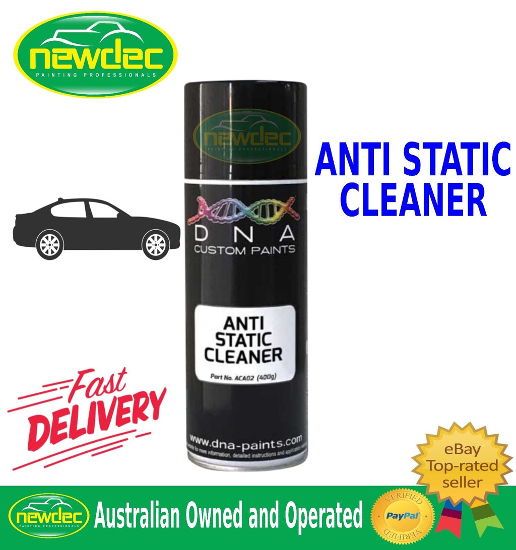 DNA ANTI STATIC CLEANER SPRAY PAINT 400ML CAR TOUCH UP AUTO METAL REPAIR CUSTOM