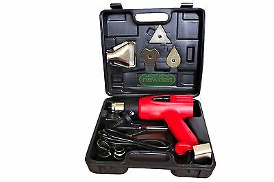 HEAT GUN KIT 2000W ELECTRIC HANDHELD HOT AIR HEATING HOBBY CRAFT DUAL SPEED TEMP