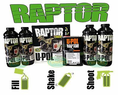 RAPTOR BY U-POL UPOL TINT 1D6 TOYOTA SILVER SKY BED LINER TINT 2 PACK COATING