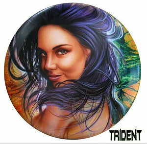 DNA TRIDENT AIRBRUSH PAINT VIOLET WATER BASED 50ML AUTO CANVAS DIY BRUSH