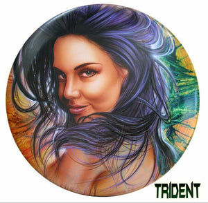 NA TRIDENT AIRBRUSH PAINT COLORS SPRAY GUN WATER BASED 10ML LIKE CREATEX WICKED
