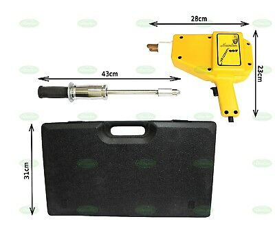 STUD WELDER DENT PULLER KIT SLIDE HAMMER CAR AUTO SPOT GUN REMOVAL REPAIR KIT