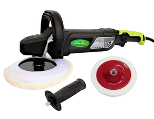 POLISHER CAR BUFFER 1500W 180MM SANDER ELECTRIC VARIABLE SPEED WITH HARD PAD