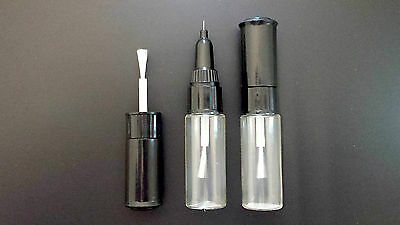 LANCIA TOUCH UP PAINT KIT 3 BOTTLES BRUSH AND PEN MADE TO YOUR COLOUR CODE