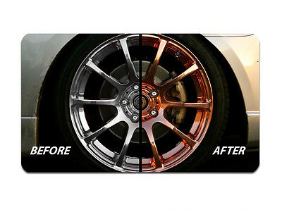 "DUPLI COLOR COPPER PLATEâ""¢ RIMS WHEELS TRIM CARS TRUCK AUTO SPRAY 2 CAN SYSTEM"