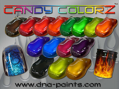 DNA CANDY ALL COLOURS 500ML PRE MIXED PAINT COLORZ PC 500 AUTO SPRAY