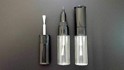 MAZDA TOUCH UP PAINT KIT 3 BOTTLES BRUSH AND PEN MADE TO YOUR COLOUR CODE