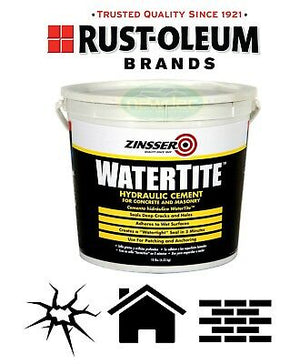 RUSTOLEUM HYDRAULIC CEMENT 4.5kg REPAIR CRACK CONCRETE POOL BRICK DRIVEWAY WALL