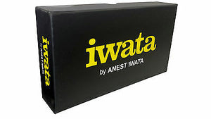 NEW IWATA AIRBRUSH HP.C PLUS AND EASEL HP CP 3MM KIT AUTO BODY ART ILLUSTRATOR
