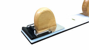 "2pc FLEXIBLE PLASTIC HAND SPEED FILE BLOCK SANDING 17"" PANEL SPRAY SPEEDFILE"
