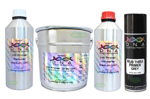 DNA HIGH SOLID PRIMER 6 LITRE KIT GREY OR WHITE 2PAC 2K FILLER SURFACER SYSTEM