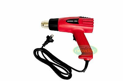 HEAT GUN 2000W NOZZLES ELECTRIC HOT AIR DUAL SPEED TEMPERATURE POWER TOOL