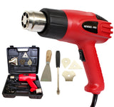 HEAT GUN 2000W NOZZLES INCLUDED DUAL SPEED