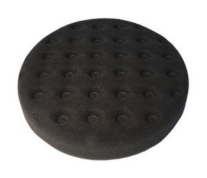 "PERFECT BLACK BUFF 6"" POLISH FOAM SOFT WAFFLE PAD 150MM"