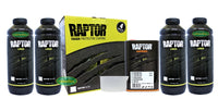 RAPTOR BY UPOL WHITE BED LINER KIT 2 PACK URETHANE SPRAY-ON
