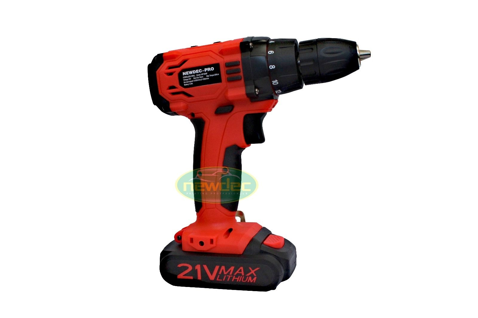 HEAVY DUTY 21V CORDLESS DRILL KIT WITH CASE
