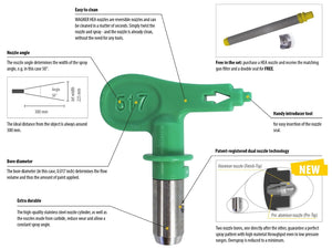 WAGNER PROJECT PRO 350 EXTRA CART AIRLESS SPRAY GUN