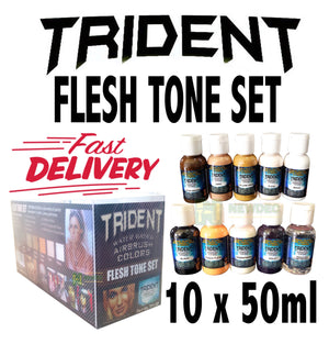 DNA TRIDENT FLESH SKIN TONE SET AIRBRUSH PAINT WATER BASED