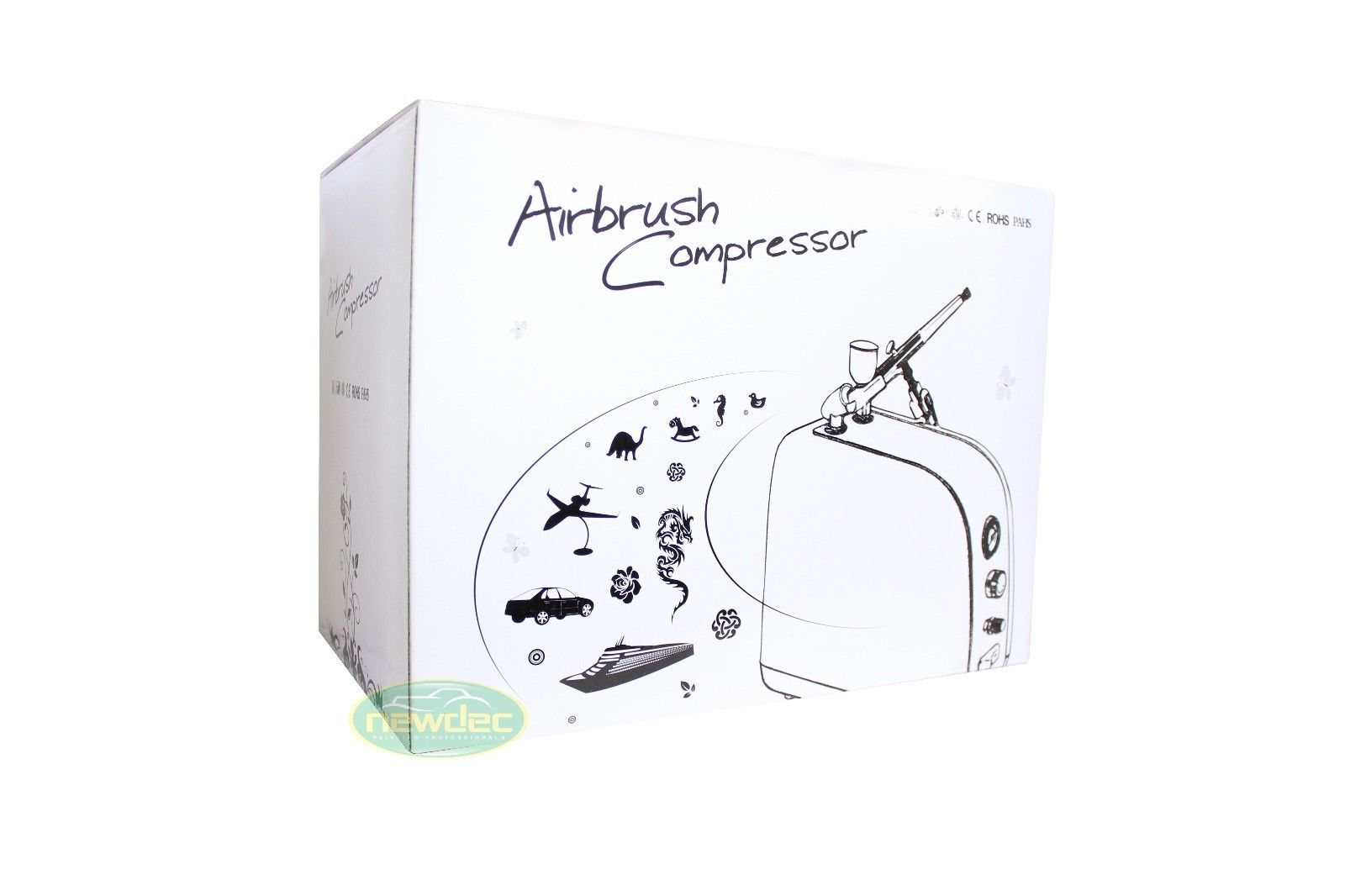 AIRBRUSH COMPRESSOR 1/6HP