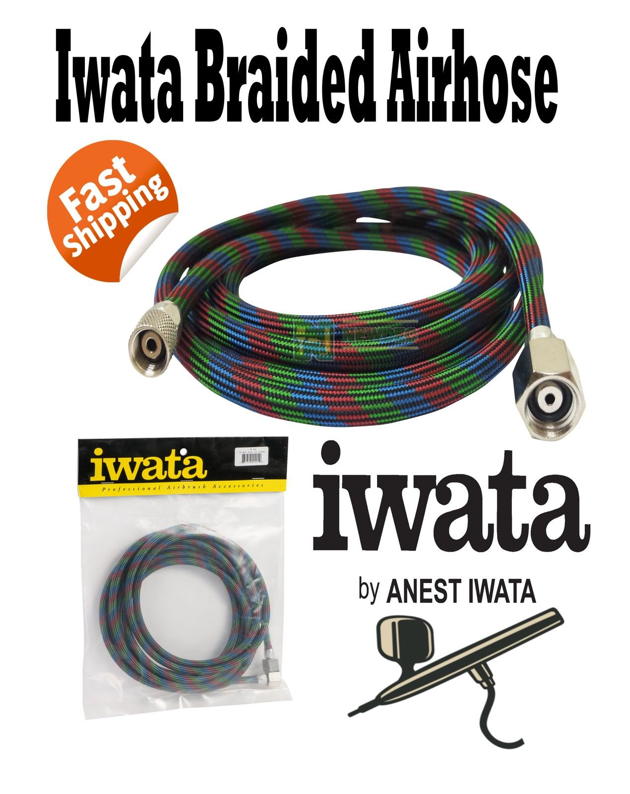 NEO FOR IWATA CN 0 35MM DUAL AND HOSE