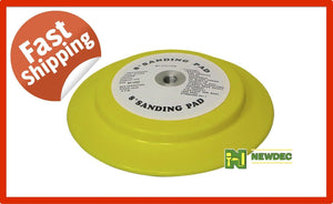 "BACKING PAD WHEEL 8"" (125mm) ANGLE GRINDER SANDER VEL CRO SANDINGS DISCS ORBITAL"