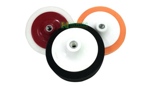 "ORANGE BUFF PAD 6"" 150MM MEDIUM CUT AND POLISH PAD FOAM DETAIL AUTO POLISHING"