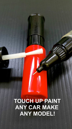 CLEAR TOP COAT TOUCH UP PAINT ALL CARS BRUSH & PEN