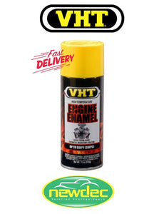 VHT HIGH TEMPERATURE ENGINE ENAMEL PAINT GLOSS YELLOW VHT SP128 SPRAY 11 OZ HEAT