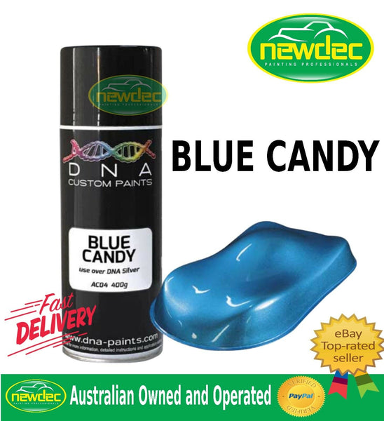 CANDY BLUE SPRAY PAINT DNA TOUCH UP MOTORCYCLE MET SUZUKI KAWASAKI HONDA