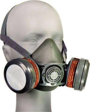7pcs FACE SPRAY MASK KIT RESPIRATOR PAINTER PAINTING GAS NEW SET DUST CHEMICAL
