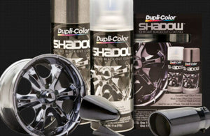 PACK OF 2 DUPLICOLOR SHADOW CHROME KIT SHD1000-KIT1 COATING PACK BRAKE RIMS