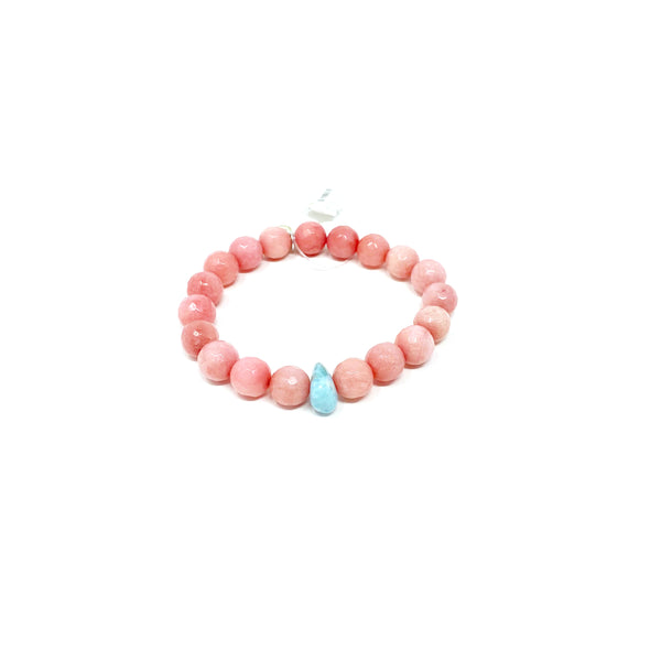 Hope Rose Pink Jade Bracelet
