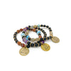 Live Your Dream Charm Stretch Bracelet