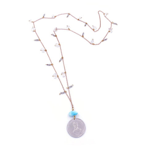Perseverance Station Necklace