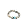 Love Flower Agate Stretch Bracelet