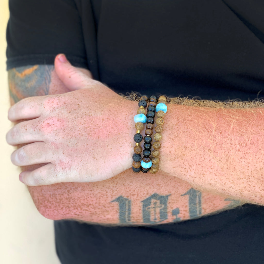 Ed Mens Stretch Bracelet