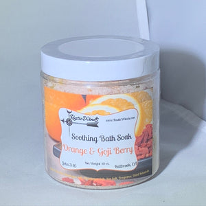 Soothing Bath Salts -  Orange & Goji Berry