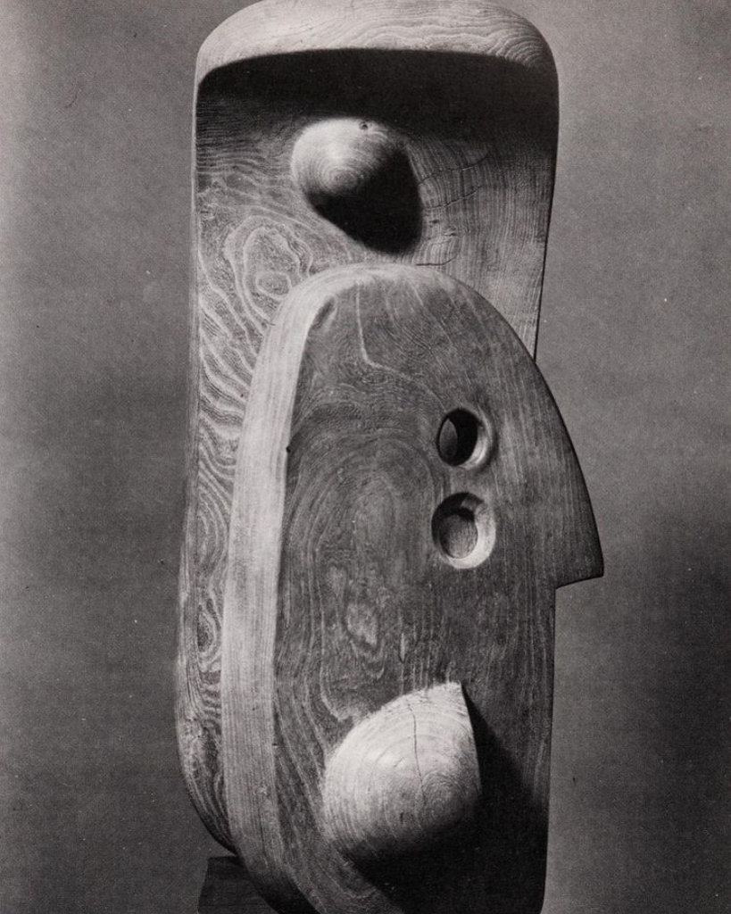 Mother Child by Henry Moore, Elm Wood 1938 via @___habitat
