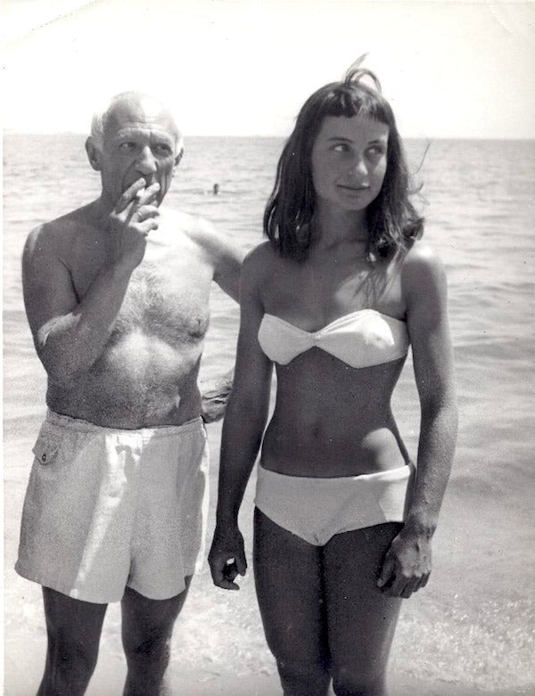 Picasso with a young Parisian woman known only as Nivea