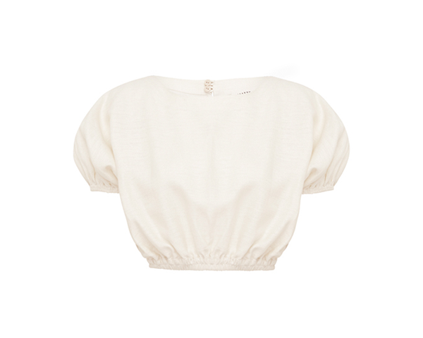 The Cropped Cocoon Blouse