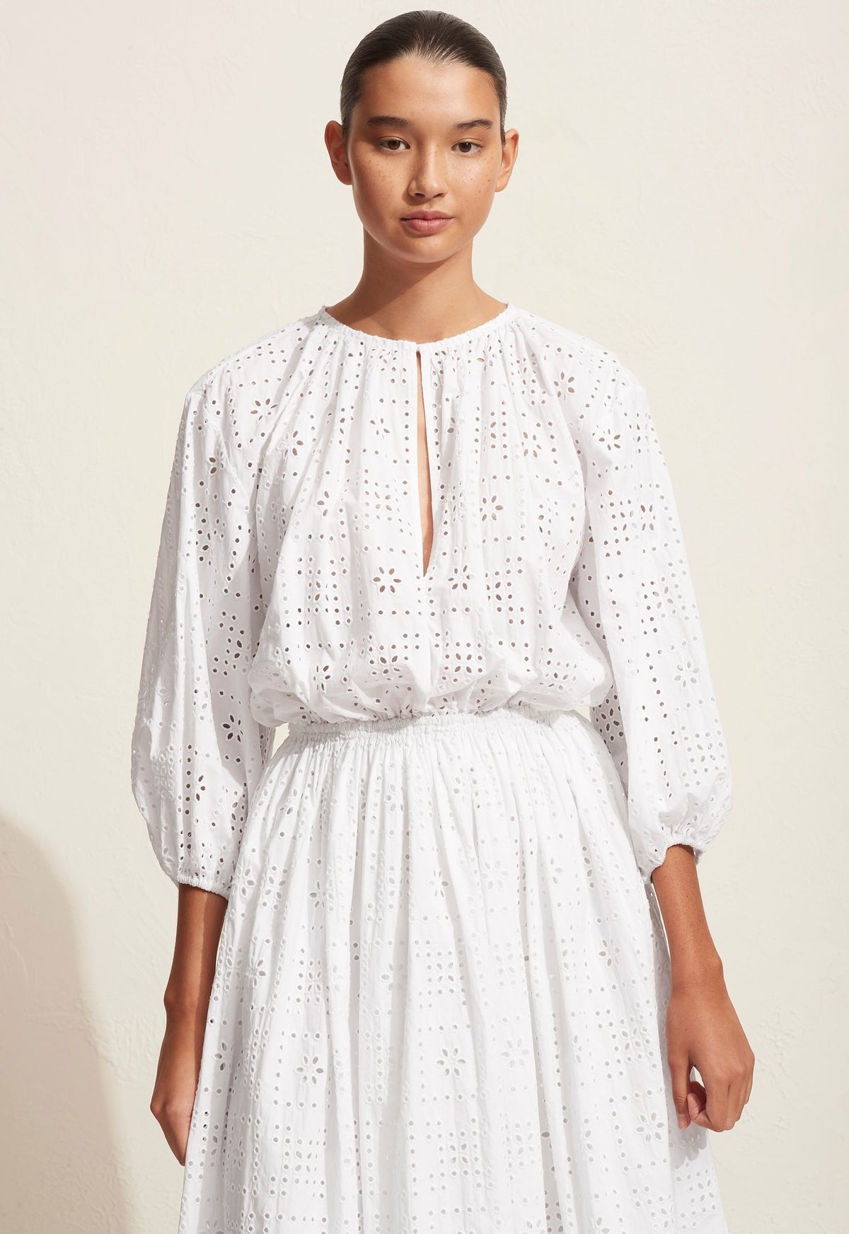 The Crochet Broderie Day Dress
