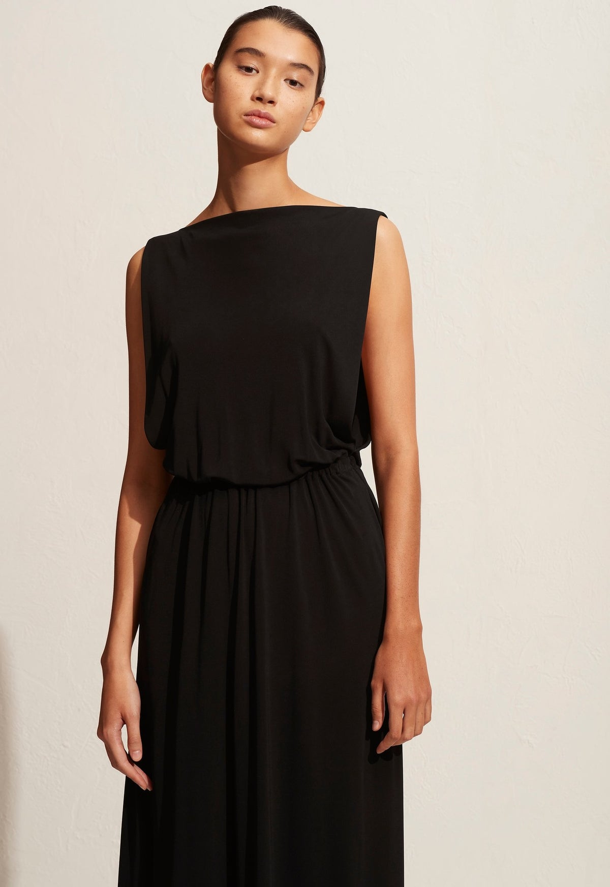 The Jersey Boatneck Dress