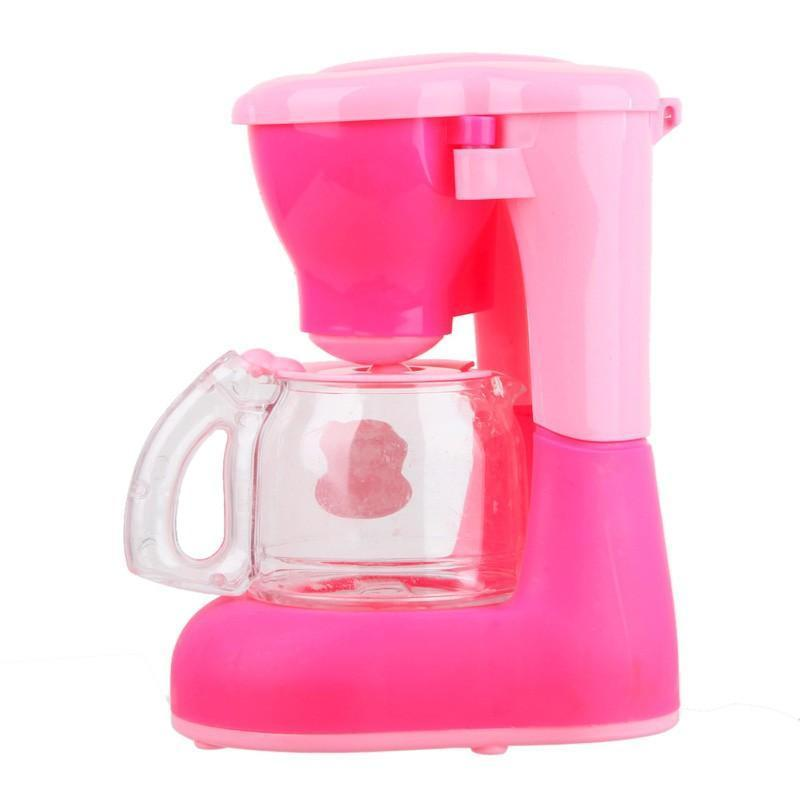 Pink Coffee Machine Kitchen Educational Toy for Girls Aged above 3 ...