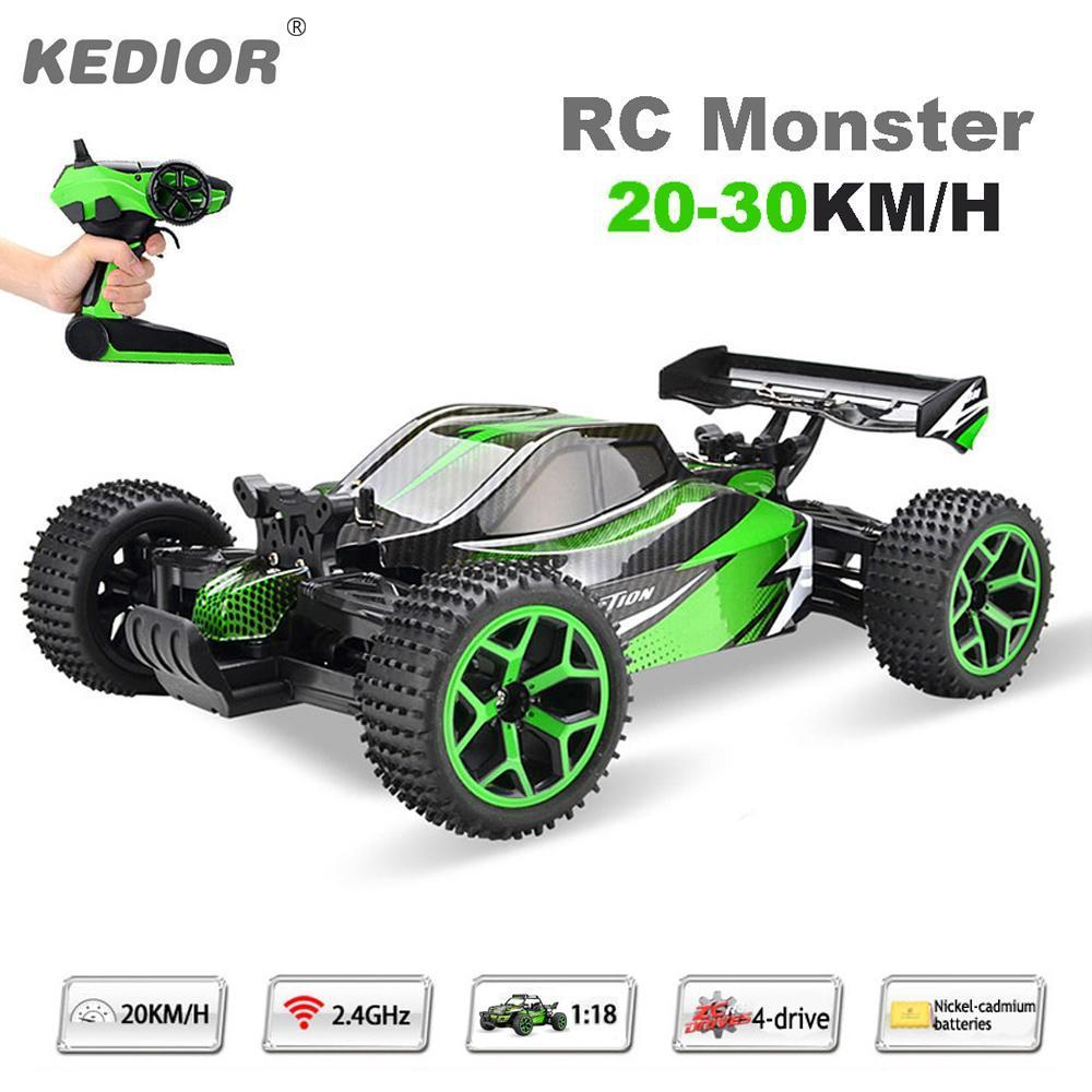 Kedior Monster Remote Control Drift High Speed Toy Car For Kids Aged Children Toys Above 8
