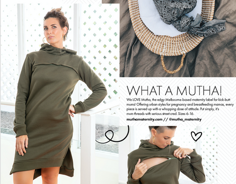 Mutha Maternity featured in Mama Disrupt