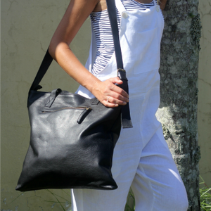 The Exton Leather Tote Bag